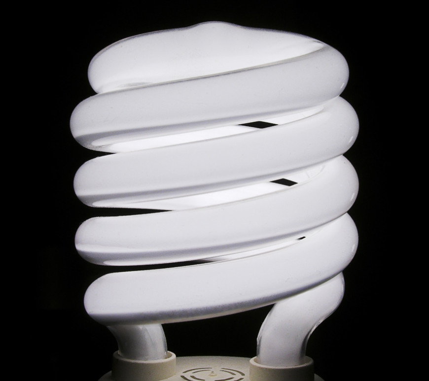 cfl bulb, efficiency, personal development