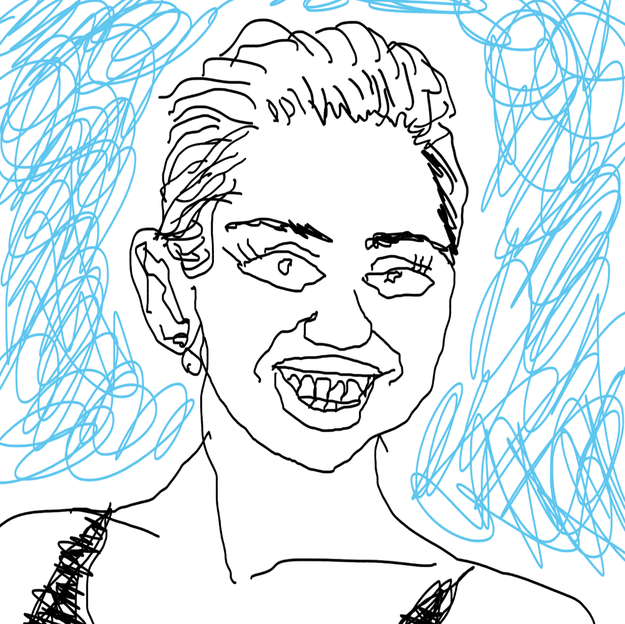 miley cyrus, bad drawing, credit, banks